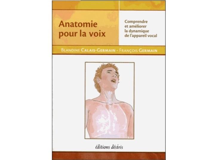 Anatomie Pour La Voix CADEAU CHANTEUR