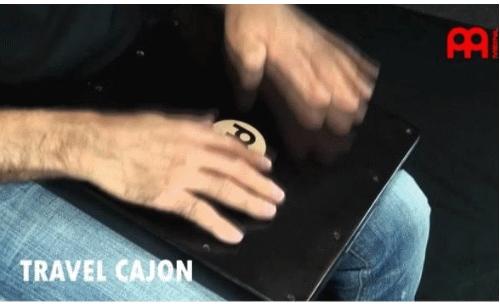 CAJON PERCU DE VOYAGE POUR S ENTRAINER