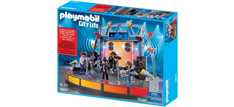 Un Concert Rock De Playmobil ! (de 4 à 10 Ans)