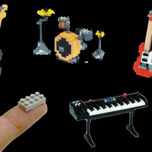 Un Nanoblock De Son Instrument De Musique