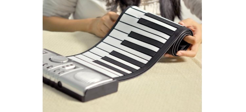 PIANO FLEXIBLE SOUPLE A ENROULER