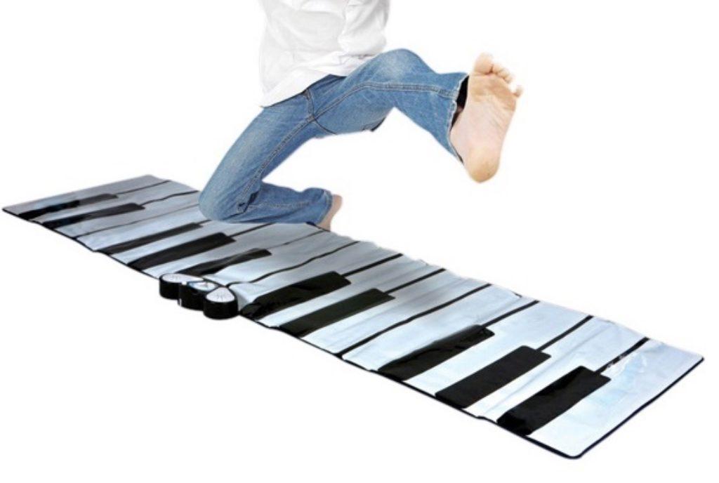 Un Piano Géant Pour Jouer Avec Les Pieds !