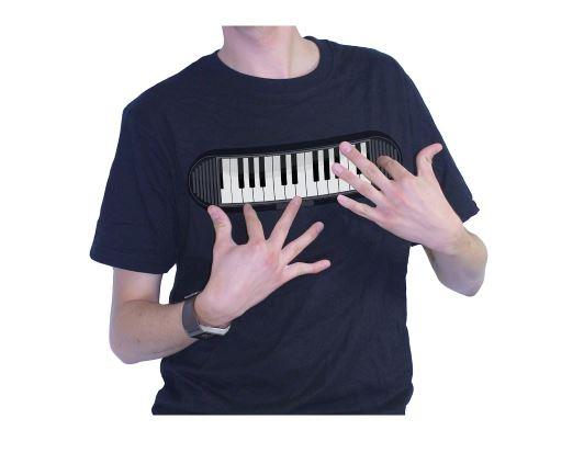 Un T-shirt Pour Jouer Du Piano