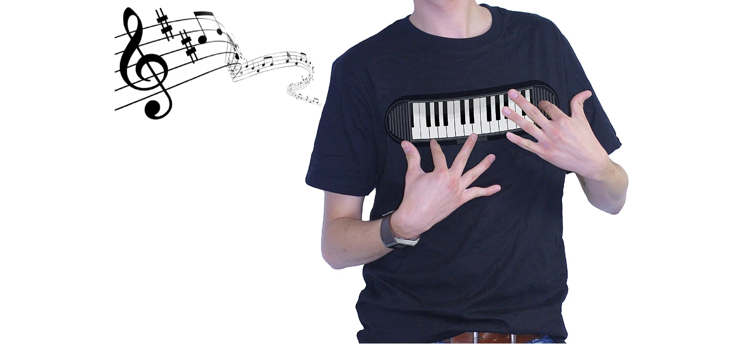 A T-shirt For Playing The Piano