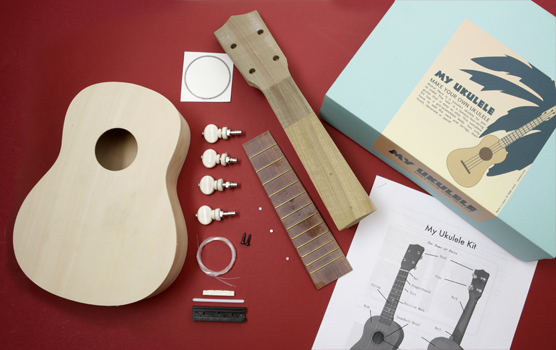 un ukulele en kit fabriquer cadeaux pour musiciens. Black Bedroom Furniture Sets. Home Design Ideas