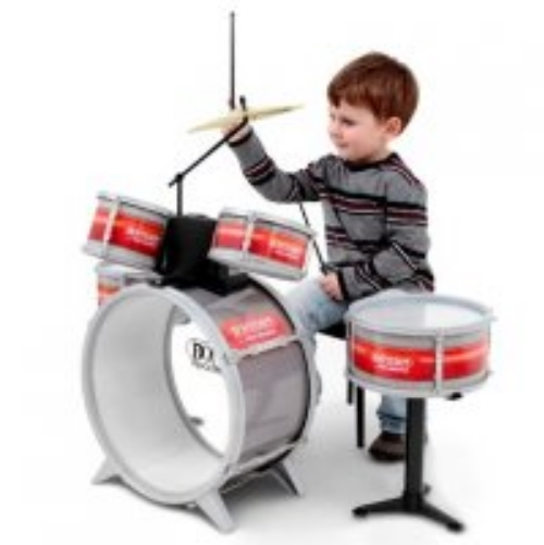 une batterie rock drummer enfant de 3 5 ans cadeaux pour musiciens. Black Bedroom Furniture Sets. Home Design Ideas