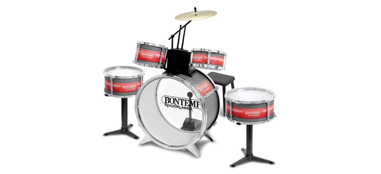 Une Batterie Rock Drummer (enfant De 3 à 5 Ans)