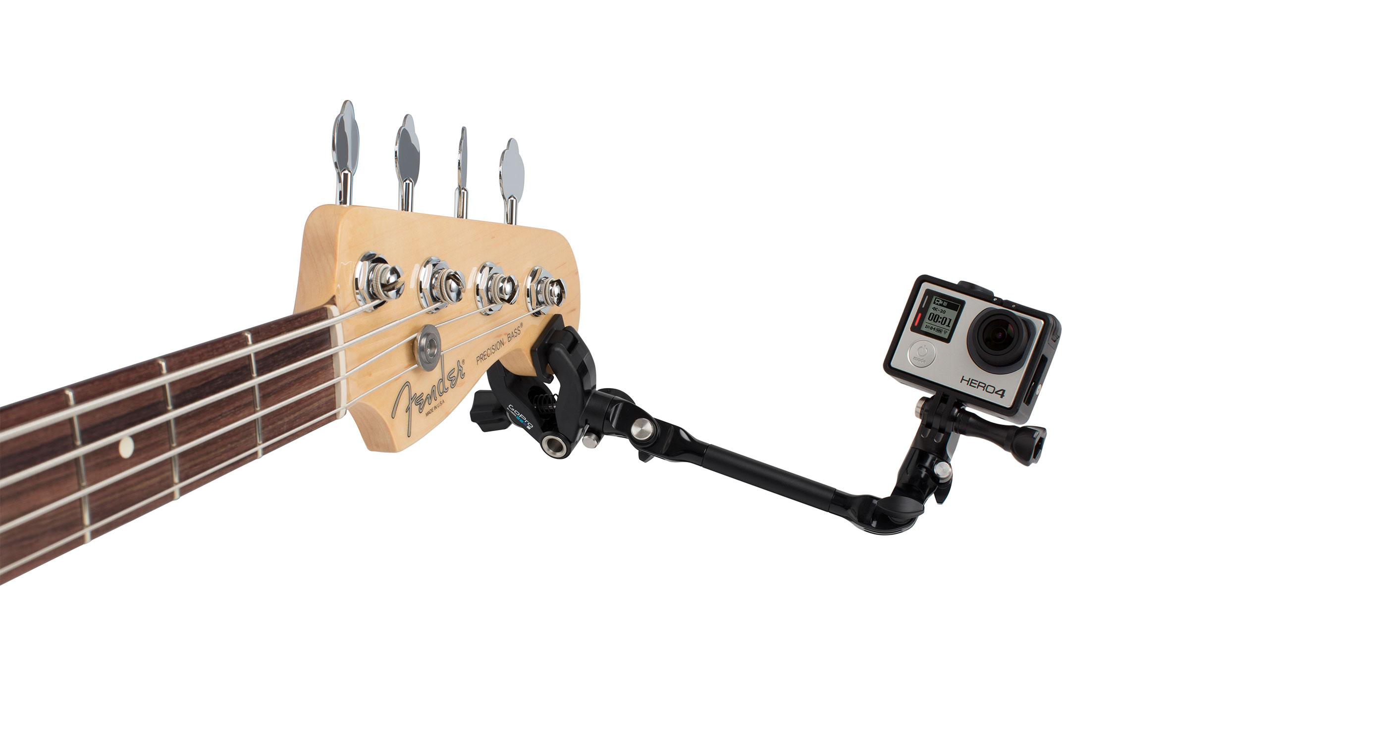 Une Accroche GoPro Pour Musiciens
