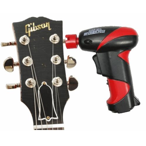 une visseuse d visseuse pour changer les cordes d une guitare cadeaux pour musiciens. Black Bedroom Furniture Sets. Home Design Ideas
