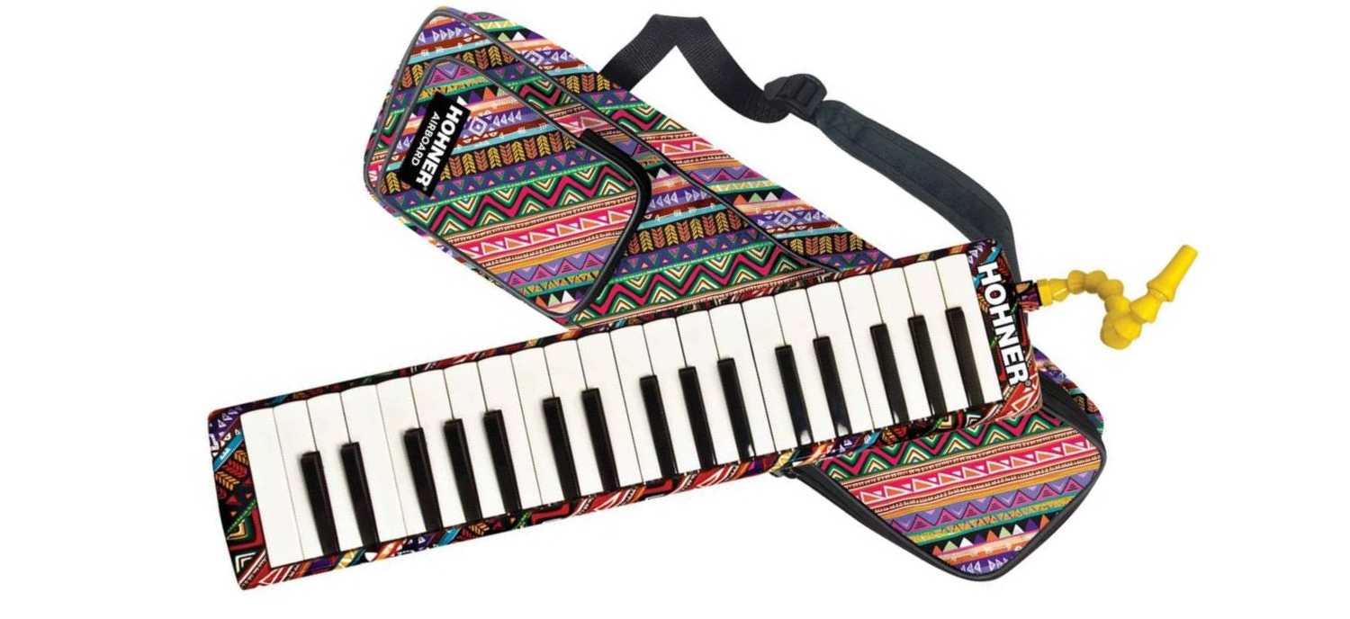 An Airboard To Play Standing Piano!