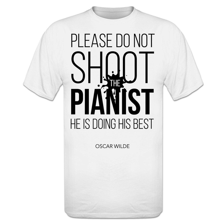 Un T-shirt Pour Pianiste (plusieurs Modèles)