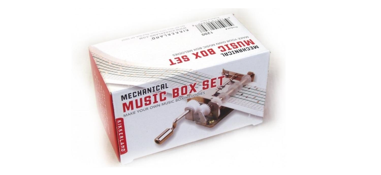 Bien-aimé Une boite à musique à faire soi-même – Cadeaux pour Musiciens GE87