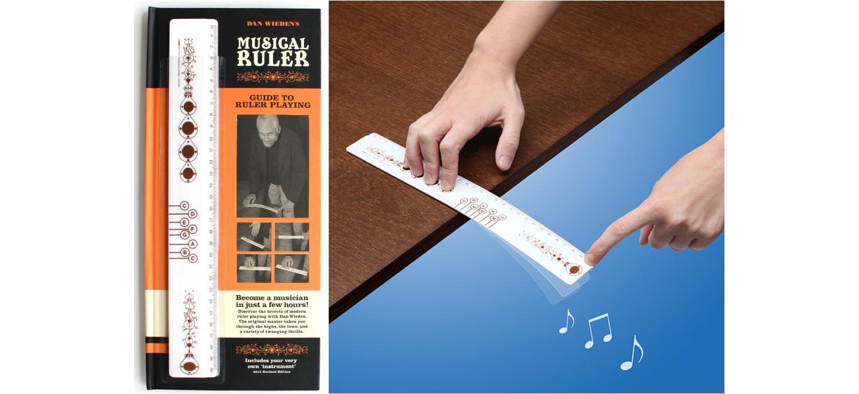 La Règle Musicale, Instrument De Bureau !