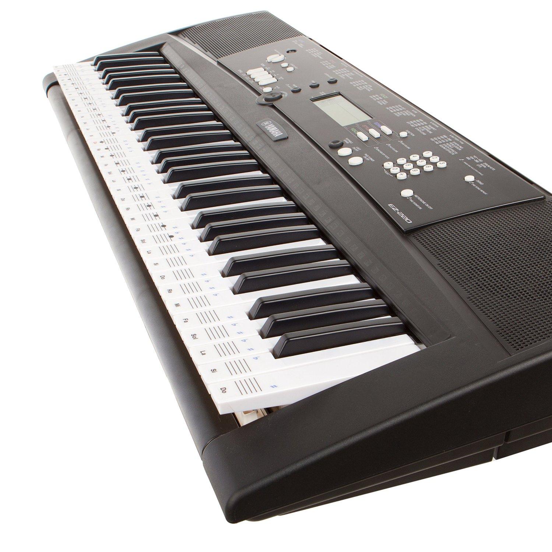des autocollants amovibles pour d buter au clavier. Black Bedroom Furniture Sets. Home Design Ideas