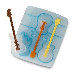 un set pour gla ons en forme de guitare cadeaux pour musiciens. Black Bedroom Furniture Sets. Home Design Ideas