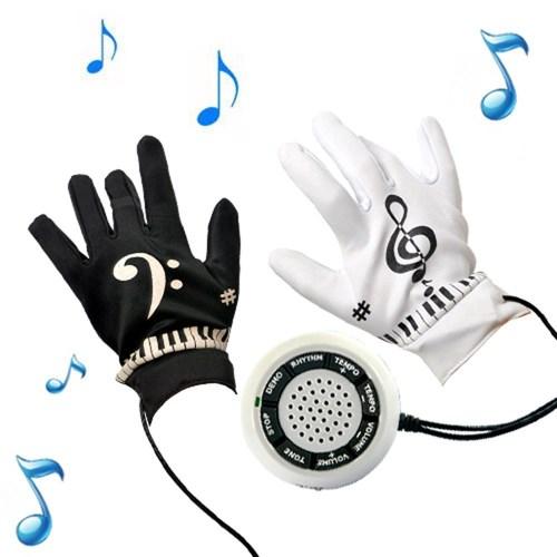des gants musicaux pour jouer du piano sans piano cadeaux pour musiciens. Black Bedroom Furniture Sets. Home Design Ideas