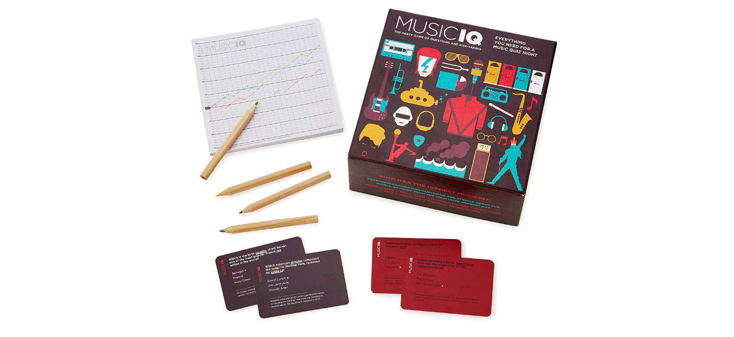 Music IQ, A Board Game To Test Your Music Culture