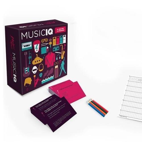MUSIC IQ -JEU DE SOCIETE MUSIQUE